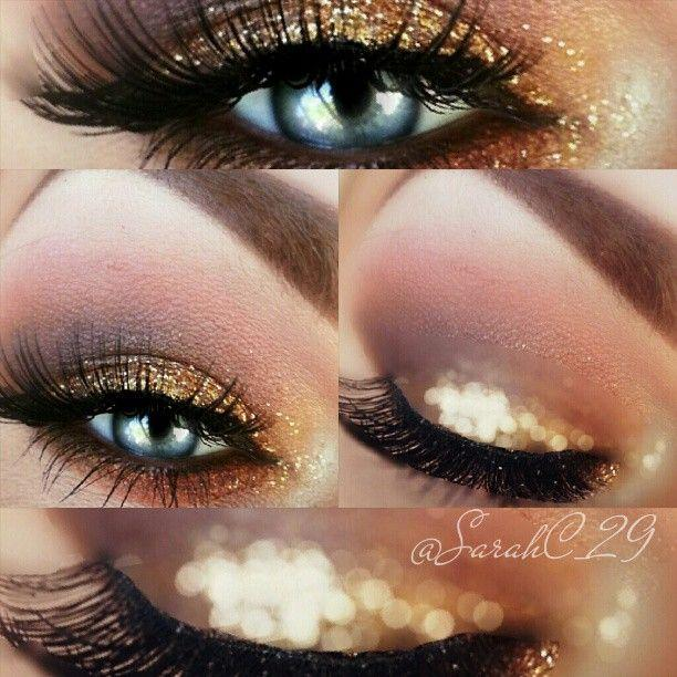 Glitter Smokey eye by Trend-Style