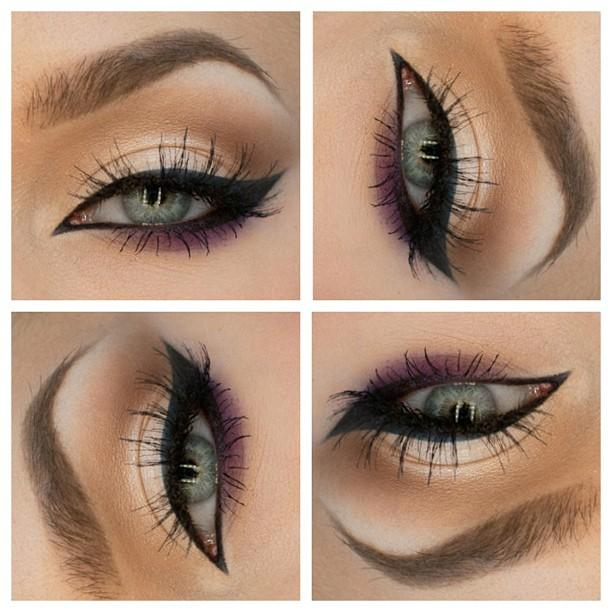 Cats eye with a hint of purple - Trends & Style
