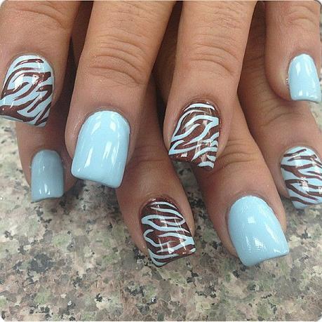 Pastel Zebra Print