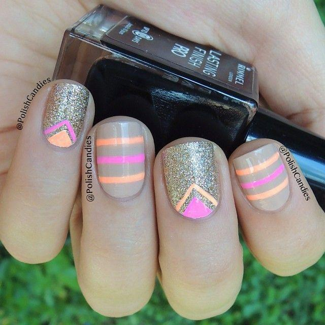 Nude Neon Amp Gold