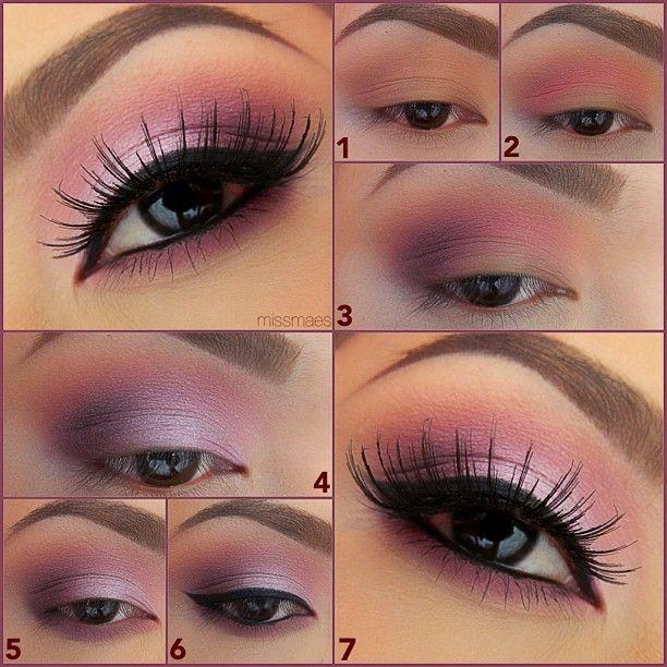how to put on brown eyeshadow