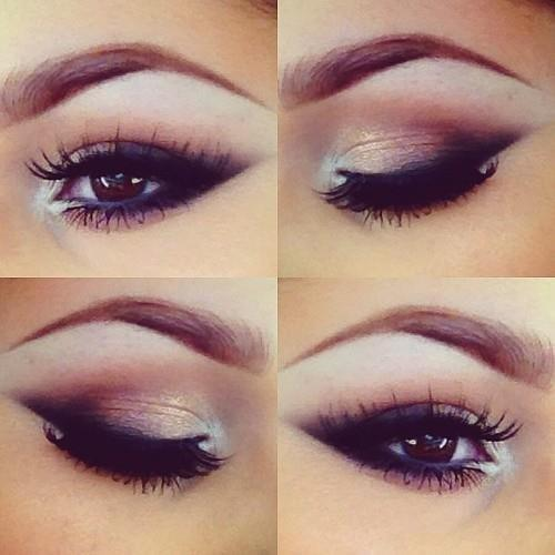 brown eye smoky, love!