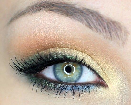 Makeup Styles For Blue Green Eyes or Green Eyes From Makeup