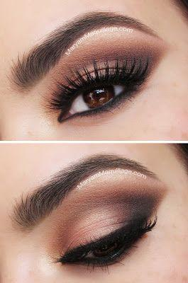 day eye brown night  from  smokey to a for Maryam eyes for brown eye makeup  look Tutorial smokey