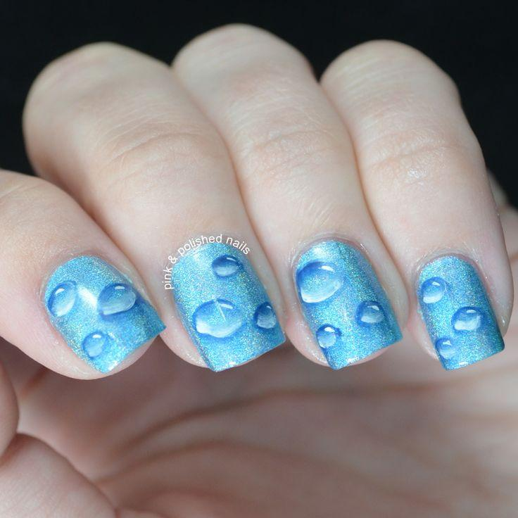 Water Drop Nails