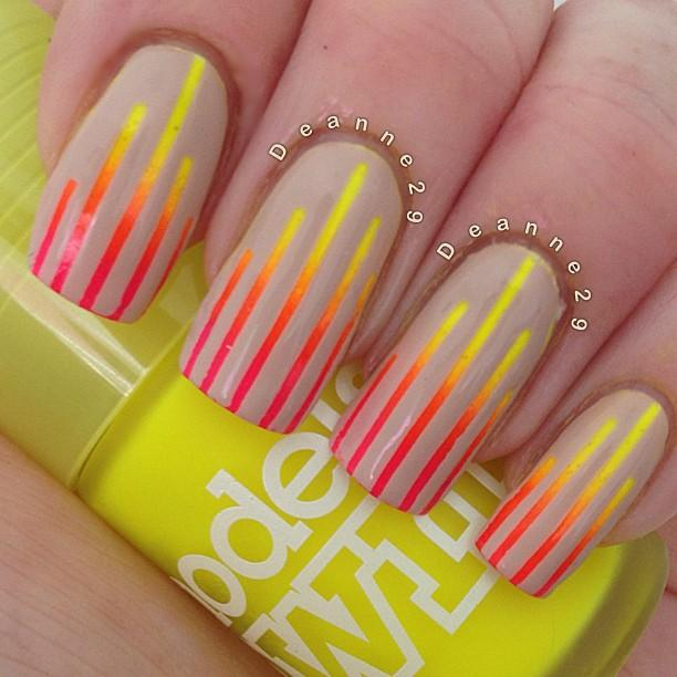loving Neon and nude together