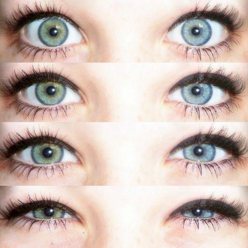 Green & Blue eyes