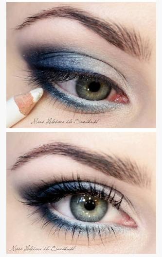 Smokey blue eyes memes for Smokey eyes blau