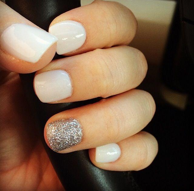 White Nail Polish In Winter: Winter Nails