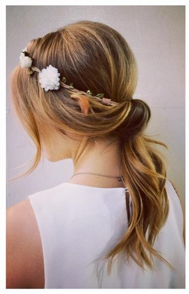 romantic festival hair