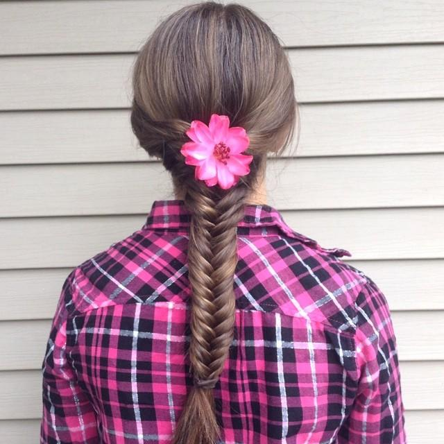 simple fishtail