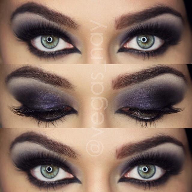 Onyx Smokey Eye