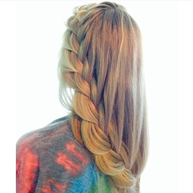 trailing braid