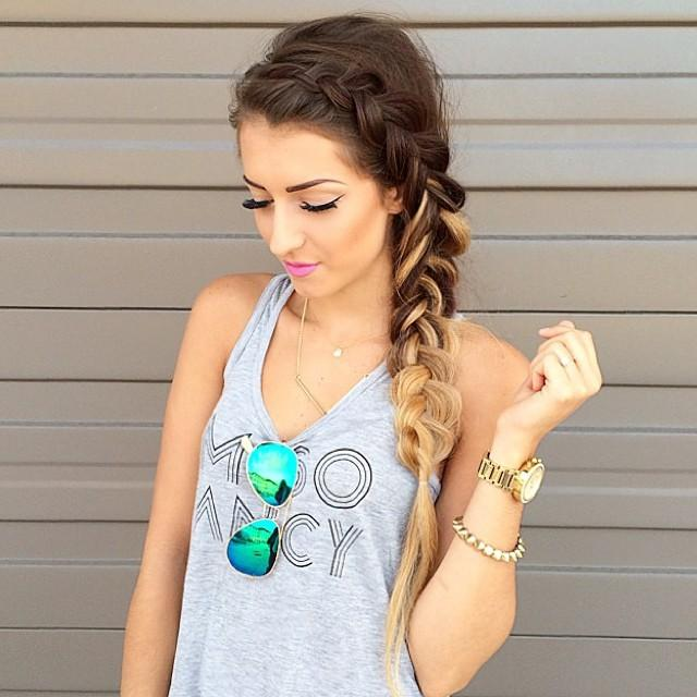 braid & makeup