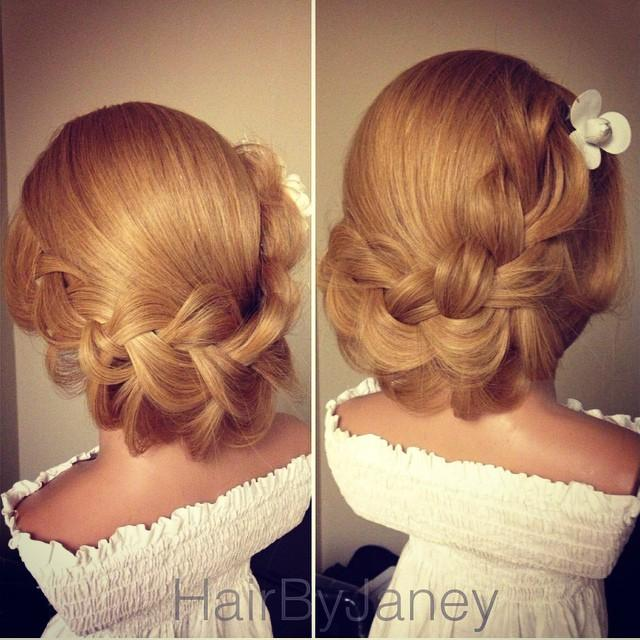 french lace updo