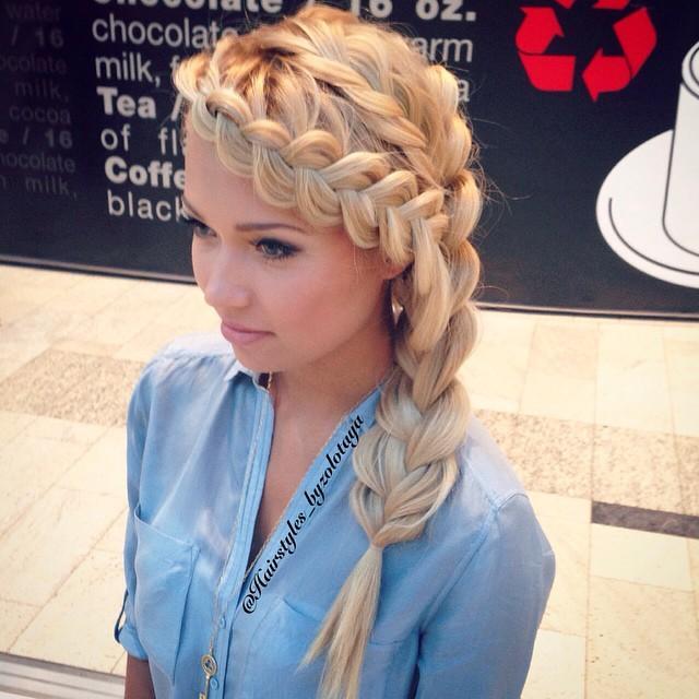 Модные прически с длинными волосами