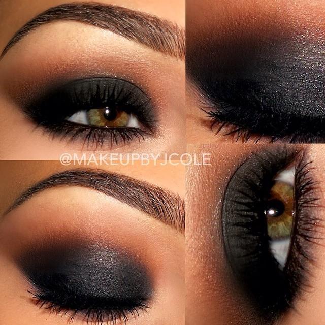 dramatic smokey eye