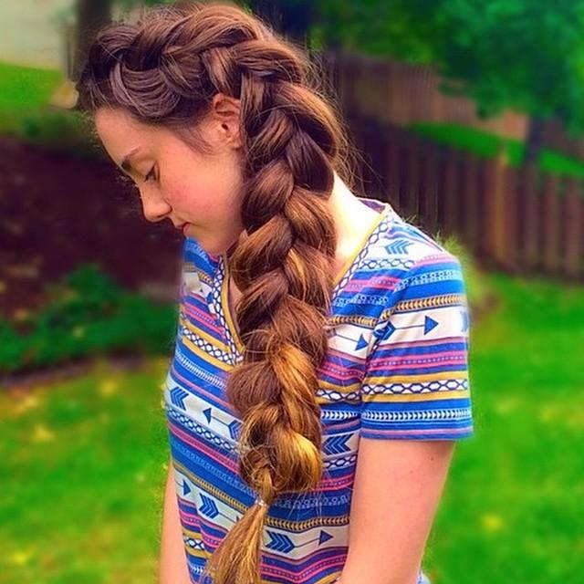 pancaked braid