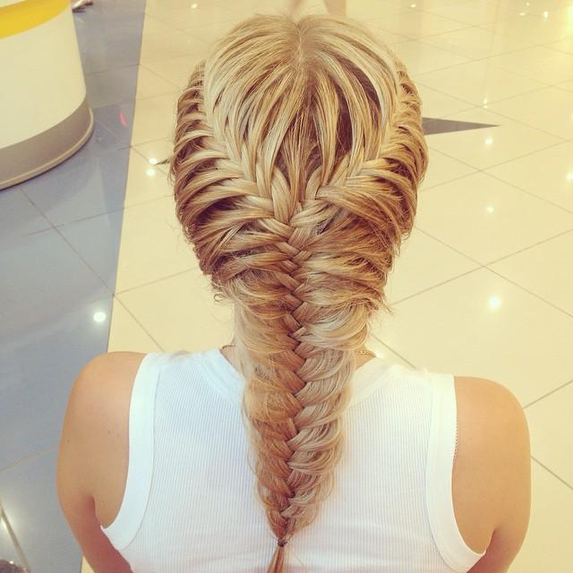 beautiful braided hair
