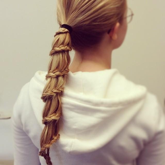 Superb Beautiful Carousel Braid Short Hairstyles Gunalazisus