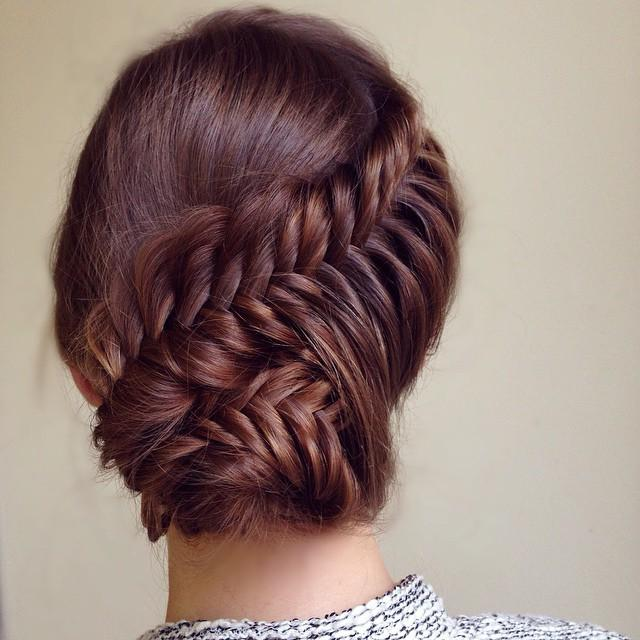 french updo