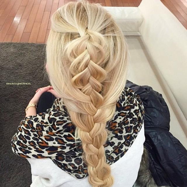 dutch braided