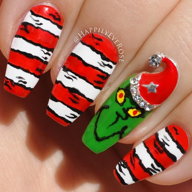 The Grinch Nails
