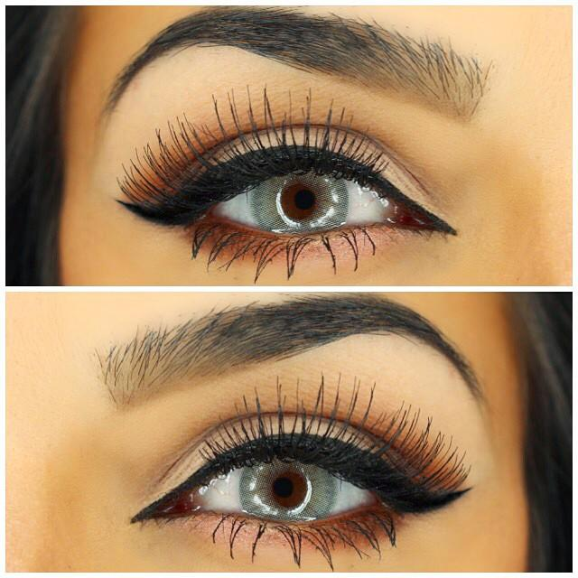 """Gorgeous eye color and shadows """"just mineral eye polish"""" in color """"orchid"""""""