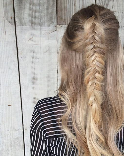 textured fishtail