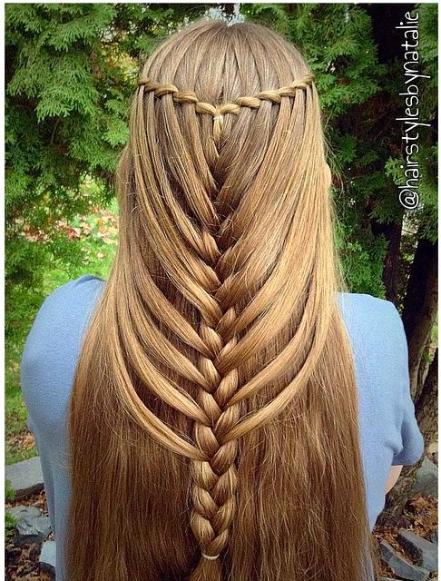 waterfall mermaid braid