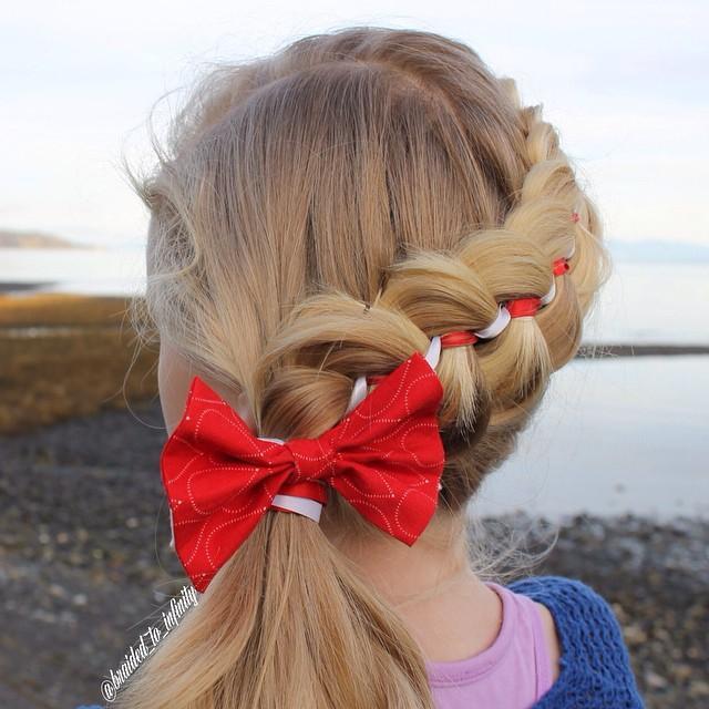 5strand ribbon braid