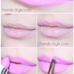Valentines Day Lip Tutorial