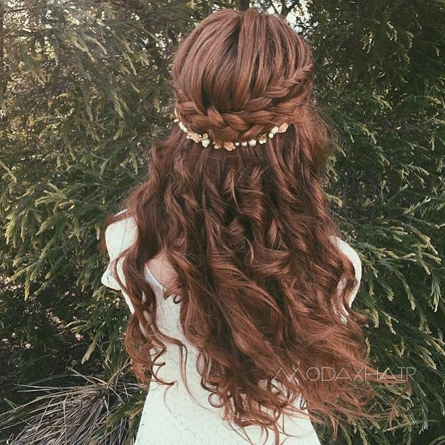 amazing wedding hair