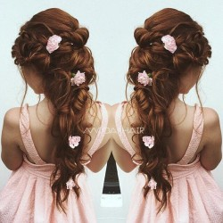 beautiful bridal hair