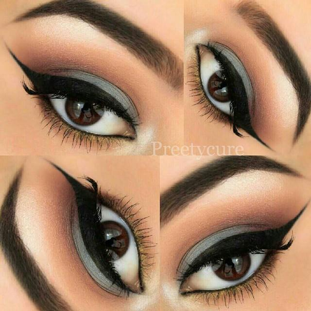 gorgeous blended look