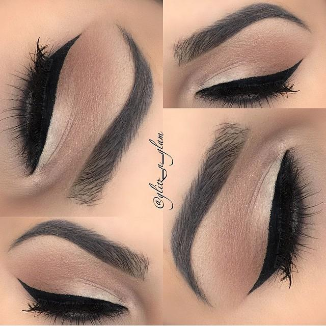 Neutral Glam Look by Trends Style