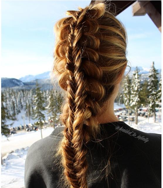 stacked braid