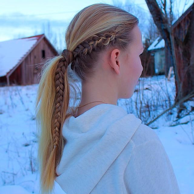 viking braid