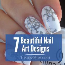 7 Beautiful Nail Art Designs