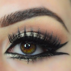 double winged look