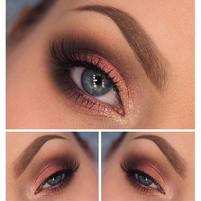 Glitter gold look by Trends- Style