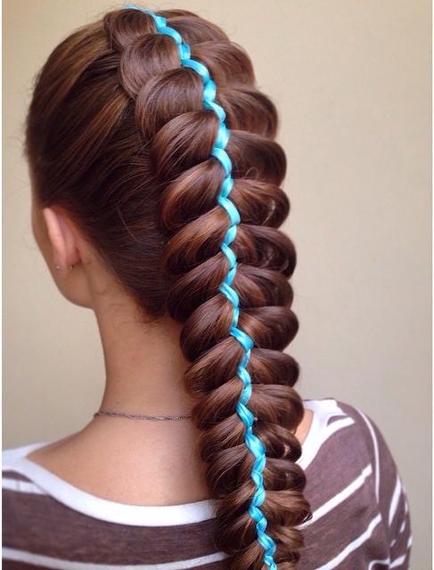 Ribbon Dutch Braid