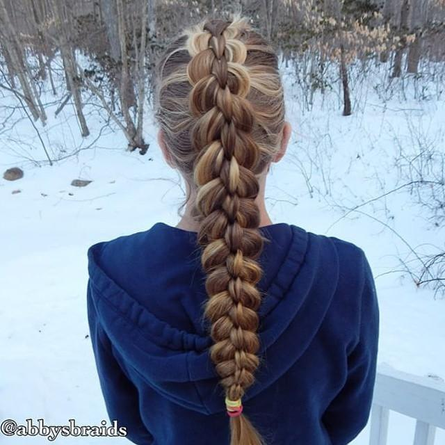 scissor loop braid