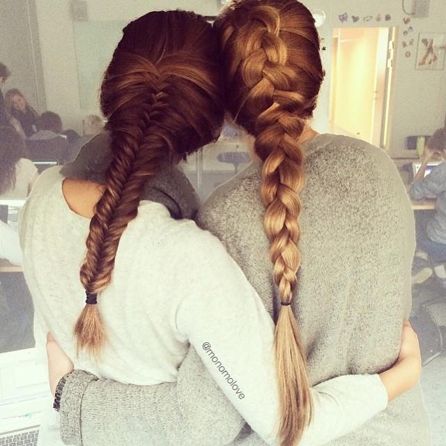 best friends braids