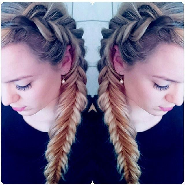 dutch fishtail combo braid