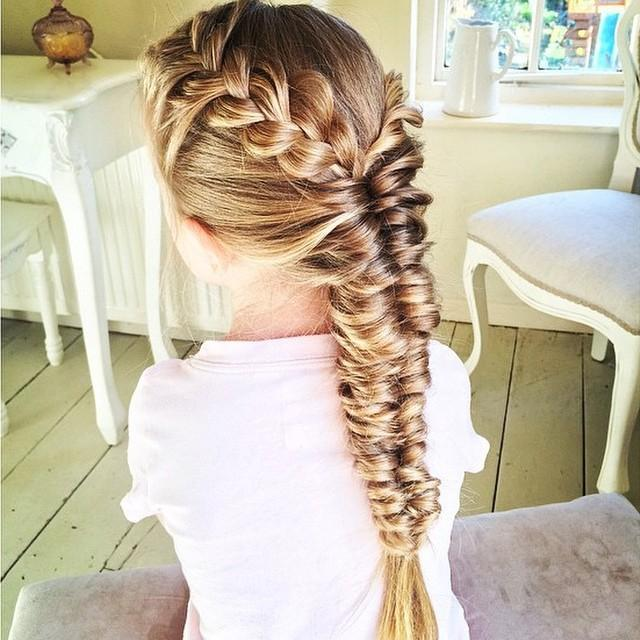 french braid topsy fishtail