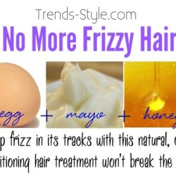 No More frizzy Hair