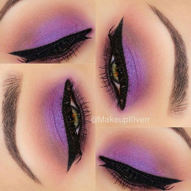 gorgeous purple look