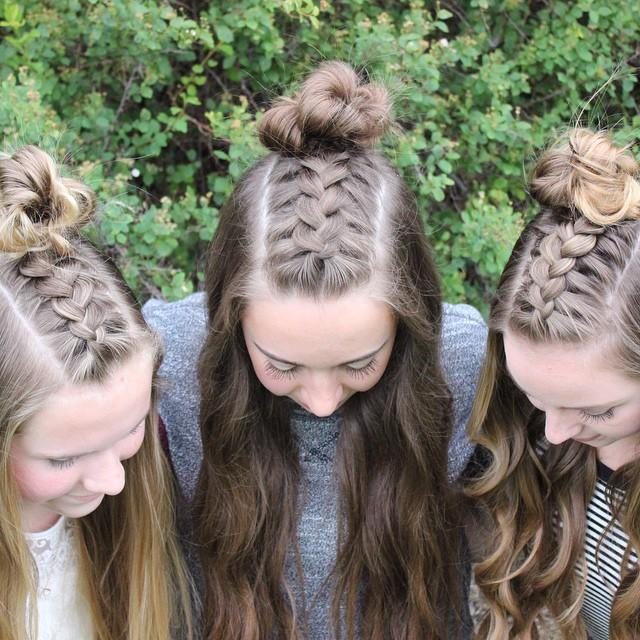 hair triplets