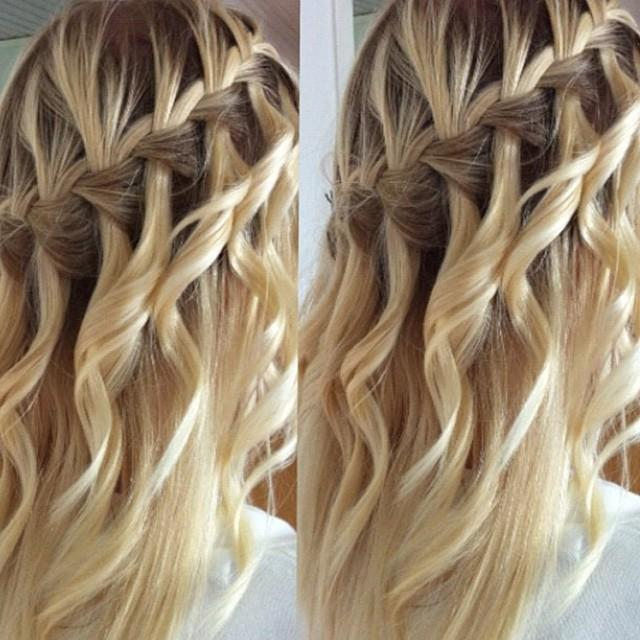 Pleasant How Do You A Waterfall Braid With Curls Braids Short Hairstyles For Black Women Fulllsitofus